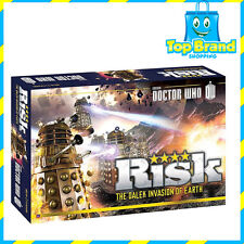 RISK Doctor Who (Dr Who) The Dalek Invasion of Earth Board Games Game BRAND NEW