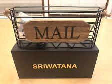 SRIWATANA Hanging Mail Letter Holder, Mail Organizer Mail Sorter