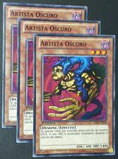 Set 3X ARTISTA OSCURO  LVAL-IT090 Comune in Italiano YUGIOH