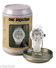 WATCH ONE DIRECTION OFFICIAL 1 D CLOCK WATER RESISTANT IN CANS S01 white