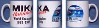 Mika Hakkinen F1 Helmet World Champion Mug Gift Idea