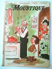 Le MOUSTIQUE 13 Juillet 1947   couverture Swan