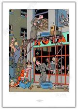 Affiche Sérigraphie JOOST SWARTE Café Royal 750ex numérotée signée 49x70 cm