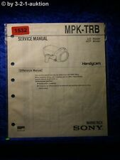 Sony Service Manual MPK TRB Handycam Marine Pack (#1532)