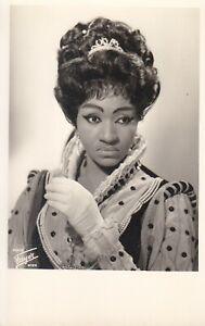 OPERA SINGER PHOTO/POSTCARD OF Grace Bumbry mezzo soprano in Don Carlos - Fayer