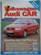 Volkswagen Audi Car Feb 1995 Polo, Audi Cabriolet 2.6E