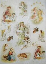 Rice Paper for Decoupage Scrapbook Craft Angels 279