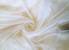 """Shatex Mosquito Netting Cream Diy Fabric 90""""Wx5yard Gift Sewing Crafting"""