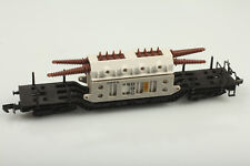 Arnold N 4910 Tiefladewagen mit BBC Trafo  Staub/Schmutz   OVP-Mängel