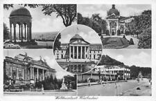 Top Foto AK 1940 Wiesbaden Nerobergtempel Kochbrunnen Theater Opelbad Kurhaus
