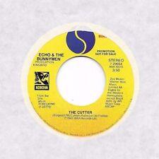 ECHO & THE BUNNYMEN * 45 * The Cutter * 1983 * DJ PROMO * UNPLAYED MINT ORIGINAL