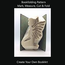 Book Folding Pattern - Cut & Fold - Fairy 2