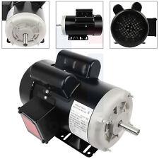 5hp Electric Motor 56 Frame 3450 Rpm Single Phase 60 Hz 208 230 Volt Tefc