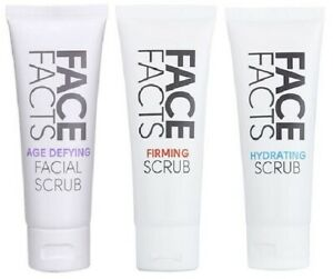 Face Facts Facial Scrub 75ml - 3 Type Available - Boxed