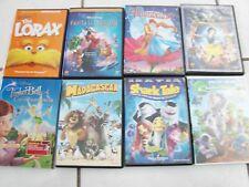 Disney,Tri Star,Dreamworks  DVD Lot 8 Movies Planet 51,Shark Tale,Snow White+