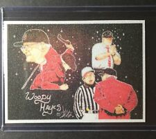 Ohio State Woody Hayes Refractor Sketch Card Print #2/9 SignedbyArtistT.Keaton