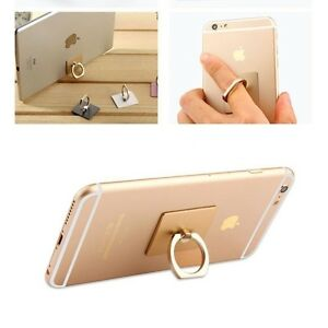 Universal Masstige Ring Grip Stand Holder Cell Phone iPhone Samsung HTC