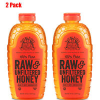 Nature Nate's 100% Pure Raw and Unfiltered Honey (44 oz.)-2 Pack