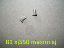 1981 Yamaha xj550 maxim master cylinder sight glass lens window repair kit