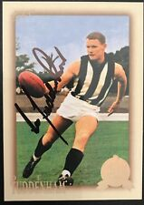 2012 SELECT AFL HALL OF FAME CARD PERSONALLY SIGNED BY DES TUDDENHAM COLLINGWOOD