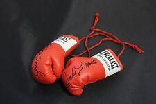 Mini Guantes De Boxeo Jake Lamotta Autografiada