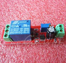 10pcs Dc 5v Delay Relay Shield Ne555 Timer Switch Adjustable Module 010s