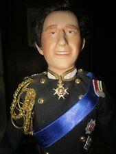 "1987 Prince Charles Bridegroom Porcelain Doll Royal Wedding Danbury Mint19"""