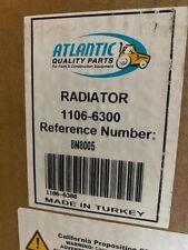 Atlantic Quality Parts 1106 6300 8n8005 Fits Ford 2n 8n 9n Tractor Radiator