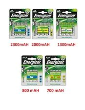Energizer AA / AAA Rechargeable Batteries NiMH Pre Charged HR06 MN1500 LR6 HR6