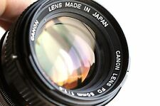 Canon LENS FD  50mm f/1.4  S.S.C    * Good Condition *  (Made in Japan)   *FL/FT