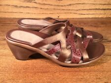 Dansko Women's Sandals Brown Leather Size 9.5 to 10 / 40 EXCELLENT MOROCCO