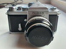 Nikon F eyelevel finder / 50mm F/1,4 Lens