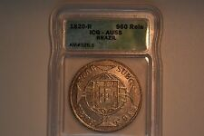 Brazil: João VI 960 Reis 1820-R AU55 ICG, Rio mint, KM326.1. Nice luster