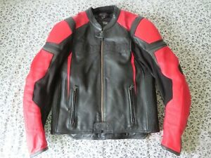 Scorpion Exo Skeletal icon Motorcycle Biker Leather Jacket L