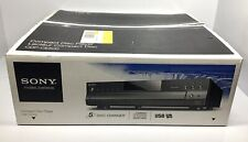 New listing Sony Cdp-Ce500 5 Cd Compact Disc Carousel Changer Player New Open Box