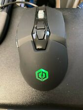 Cyberpower PC Gaming Optical Mouse Elite M1-131, Black Design   7 RGB Options