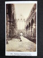 Victorian Carte De Visite CDV: Dunblane Cathedral Interior