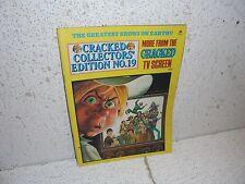Vintage Cracked Magazine  Collector's Edition No. 19