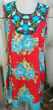 New design ` full embroidery  rayon matrial /kurta long tunic size XL44