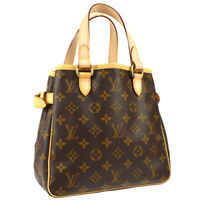 LOUIS VUITTON BATIGNOLLES HAND TOTE BAG PURSE MONOGRAM M51156 VI1087 AK41561