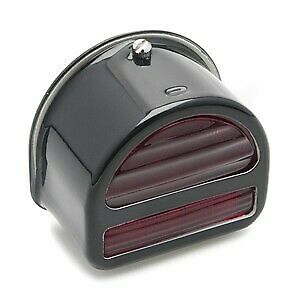 Rear Lamp 'D' type with Bar ST51 - Black