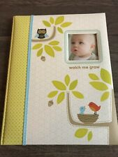 First 5 Years Baby Memory Book Watch Me Grow 64 Pages Carter's Woodland Album