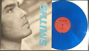 "The Smiths Panic German Blue Vinyl 12"" PS Indie Morrissey Oasis Stone Roses Blur"
