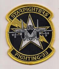 Usn Vf-33 Starfighters patch F-14 Tomcat Fighter Sqn