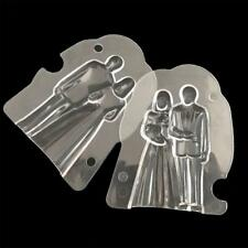 Couple Plastic 3D Cake Chocolate Mould Jelly Sugarcraft Mold Baking Tool