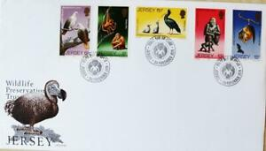 """Jersey Stamps: """"Wildlife Preservation - Wildlife III"""" First Day Cover 1979"""