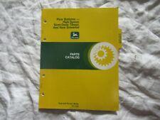 1978 John Deere Plow Bottoms Parts Catalog Book Manual Factory Original