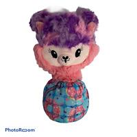 💕 12' DOLL Pikmi Pops Pajama Llamas Stuffed Plush - Donut Worry EUC E3