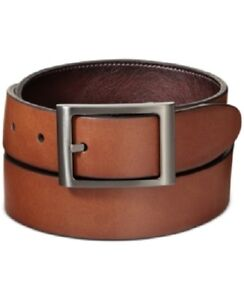 Ryan Seacrest Mens Belt Sz 30 Tan Brown Imitation LeatherCasual Belt 11RS01X009