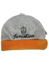 Cappellino neonato in ciniglia 3/6 mesi ufficiale Juventus Juve *00872